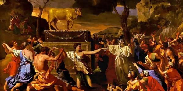 golden calf worship (72K)