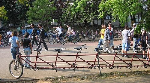 tandem bike example 2 (114K)