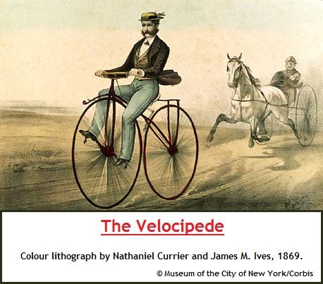 Velocipede circa 1869 (73K)