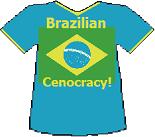 Brazil's Cenocracy T-shirt (13K)