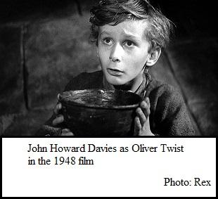 John Howard Davies as OliverTwist (33K)