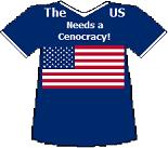United States' Cenocracy T-shirt (11K)