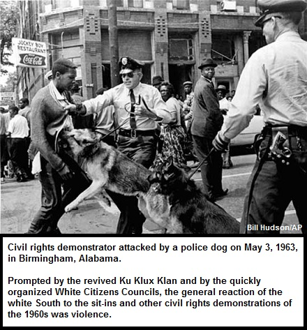 Civil Rights Protestor