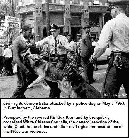 Civil Rights Protestor