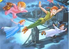 Peter Pan and 3 kids (17K)