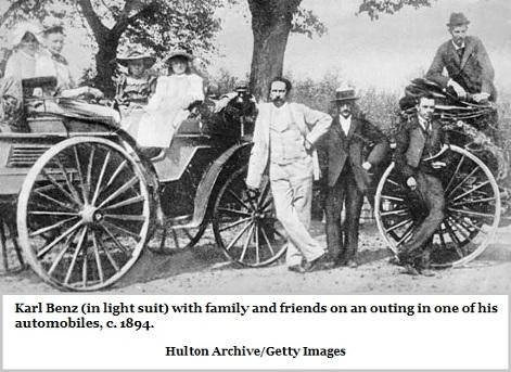 1894 Karl Benz automobile