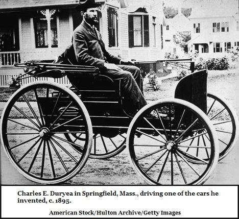 1895 Early Duryea car