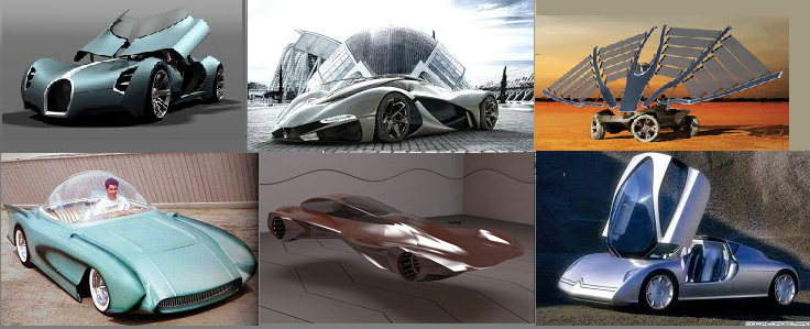 Some Futuristic vehicles