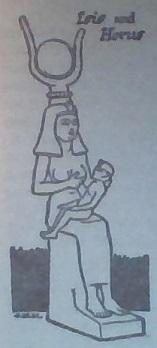 Isis and Horus (33K)