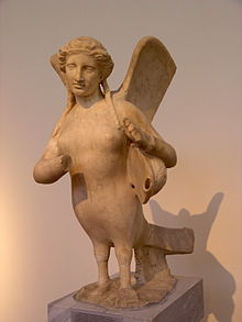 A supposed Siren of Greek Mythology
