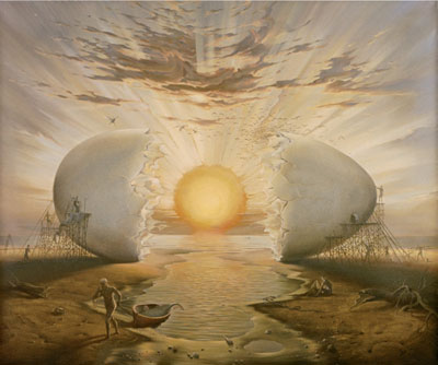 The Cosmic Egg from which humanity emerged