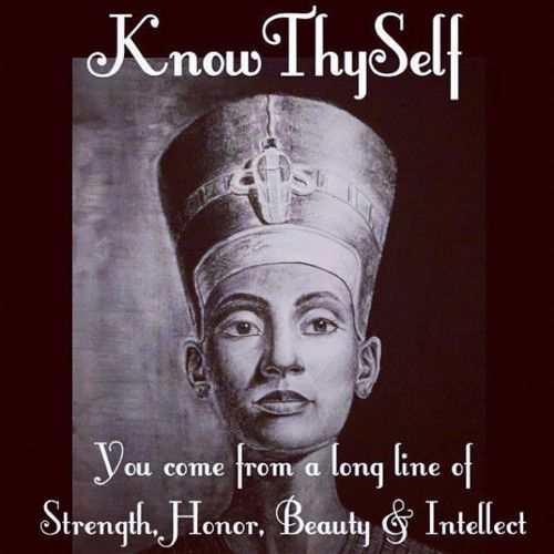 Woman: Know Thy Self