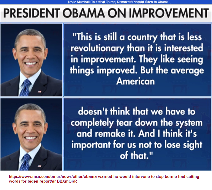 The Obamaian World View of the supposed Average American