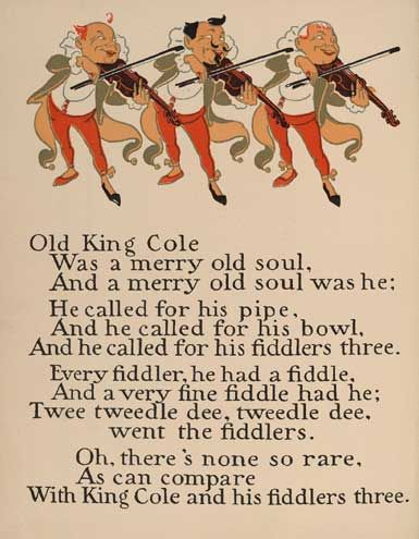 Old King Cole rhyme