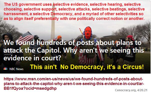 Selectivity conceals widespread government prejudice!