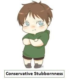 Conservative Stubbornness