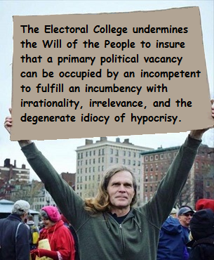 Electoral College undermines the Will of People