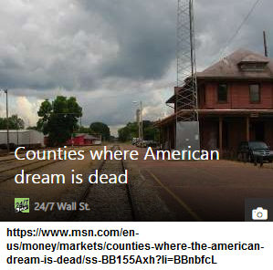 The American Dream is not only dead, but it actually was never born for most people.