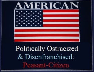 American flag designation a peasant-citizenry.