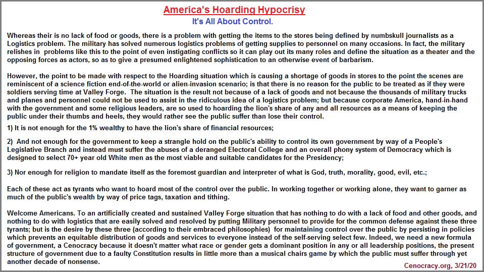 Hoarding in America