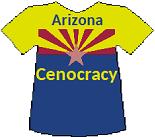 Arizona's Cenocracy T-shirt (13K)