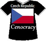 Czech Republics' Cenocracy T-shirt (9K)