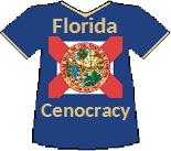Florida's Cenocracy T-shirt (10K)