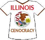 Illinois' Cenocracy T-shirt (13K)