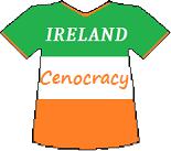 Ireland's Cenocracy T-shirt