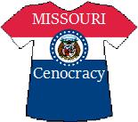 Missouri's Cenocracy T-shirt (11K)