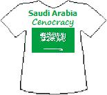 Saudi Arabia's Cenocracy T-shirt (9K)