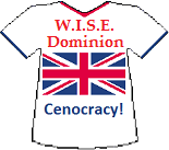 Wise Dominion's Cenocracy T-shirt (11K)