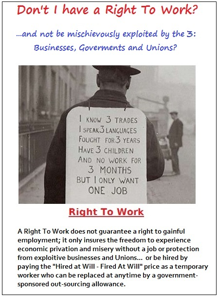 Don't I have a Right to Work? (104K)