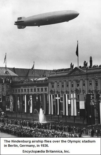 Hinderburg airship
