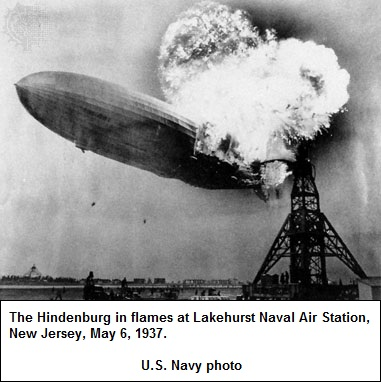 Deterioration of the Hindenburg