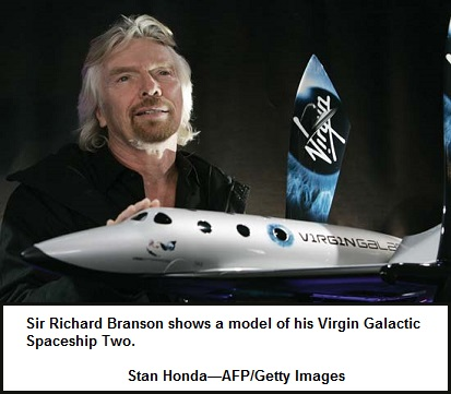 Branson's Space and Airship