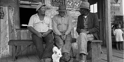 The U.S. Great Depression in the 1930s