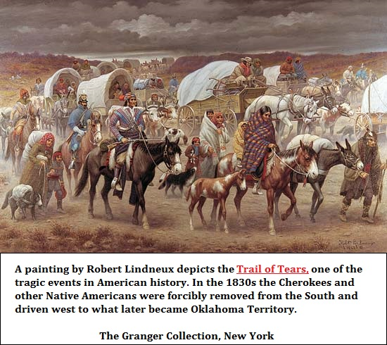 Trail of Native American Tears