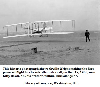 Wright Brothers at Kittyhawk