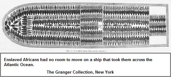 Cramped Slave Ship