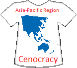 Asian-Pacific Region's Cenocracy T-shirt (9K)