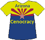 Arizona's Cenocracy T-shirt (13K)