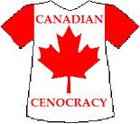 Canada's Cenocracy T-shirt (9K)