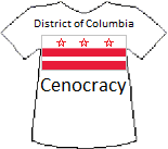 District of Columbia's Cenocracy T-shirt (8K)