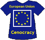 European Union's Cenocracy T-shirt (9K)