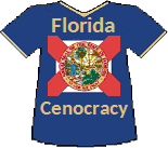 Florida's Cenocracy T-shirt (10K)