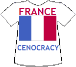 France's Cenocracy T-shirt (9K)