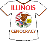 Illinois' Cenocracy T-shirt (13K)