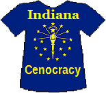 Indiana's Cenocracy T-shirt (8K)