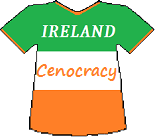 Ireland's Cenocracy T-shirt